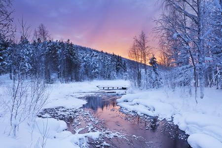 Finnland Winterlandschaft