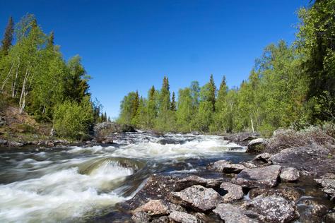 Lappland, Vaesterbotten, Schweden